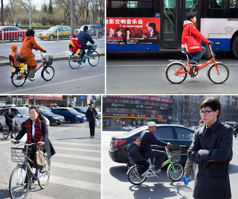 Bike-collage